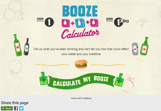 Booze Calculator
