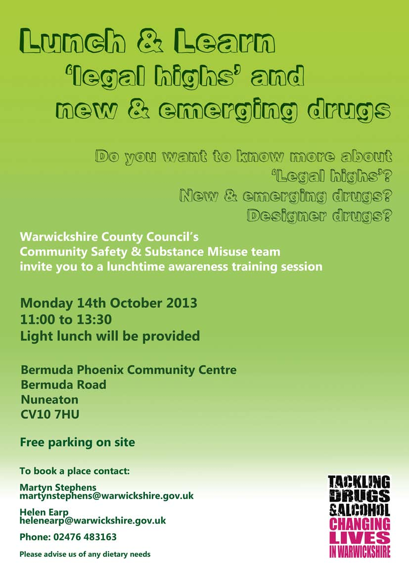Community Safety & Substance Misuse team host 'Lunch & Learn' event