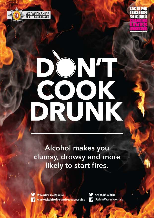 Don't Cook Drunk