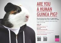 Human guinea pig