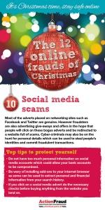 10. Social media scams