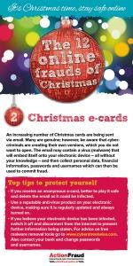 2. Christmas e-cards
