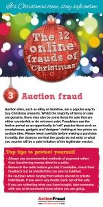3. Auction fraud