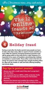 4. Holiday fraud