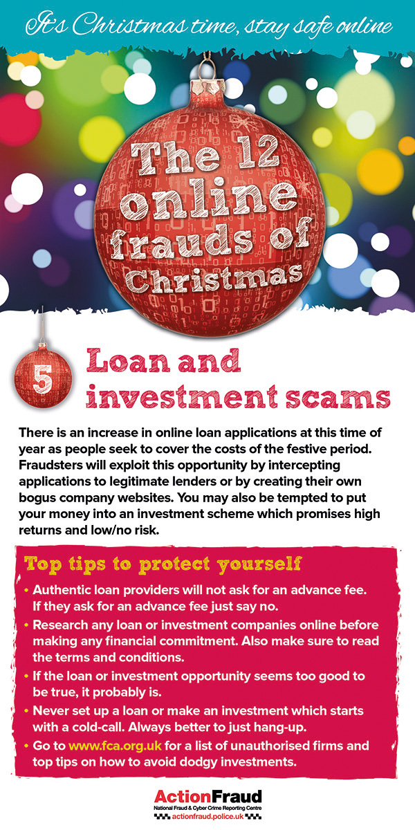 holiday fraud 5loan and investment scams - When Is The First Day Of Christmas