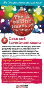 5.Loan and investment scams