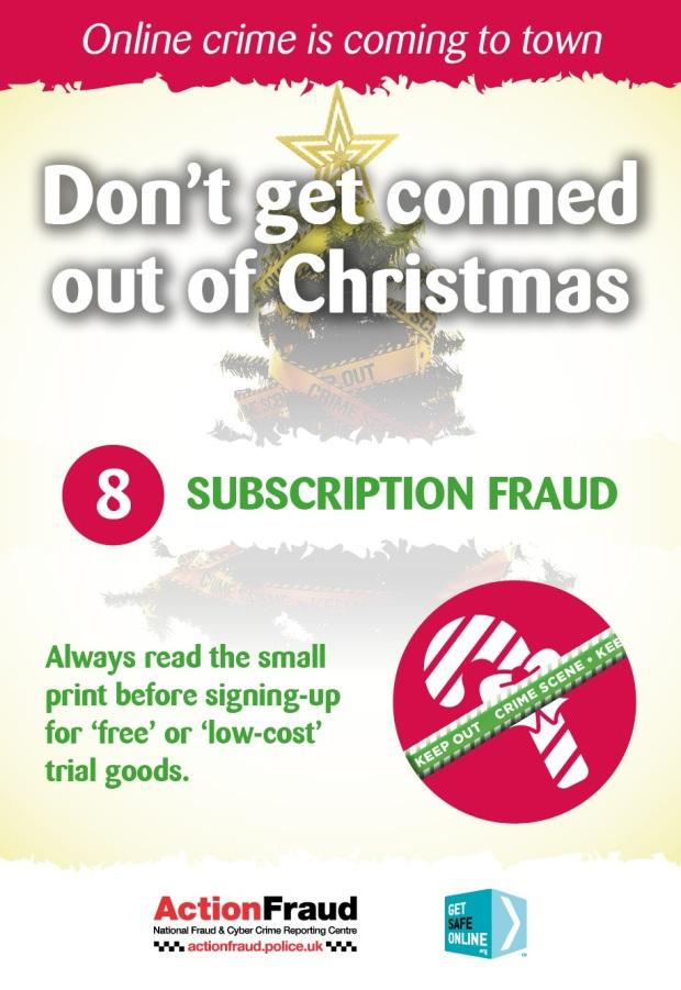 8 Subscription Fraud