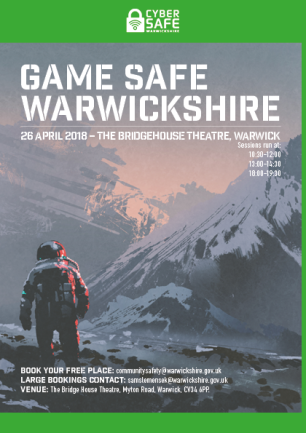 Game Safe Event Invite png 1