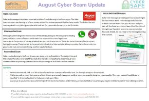 August Scam Update Page 1