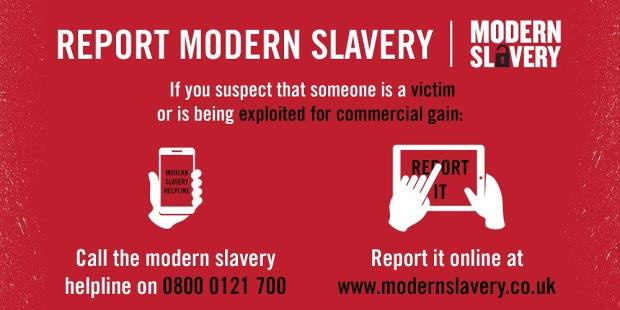 Modern Slavery Banner