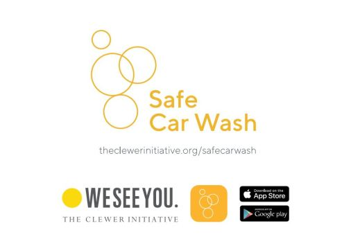 Safe Car Wash Postcard