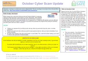 October Cyber Scam Update Page 1