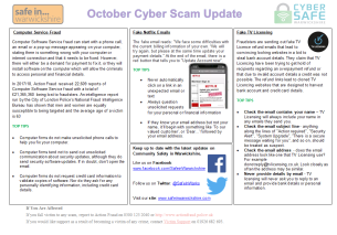October Cyber Scam Update Page 2